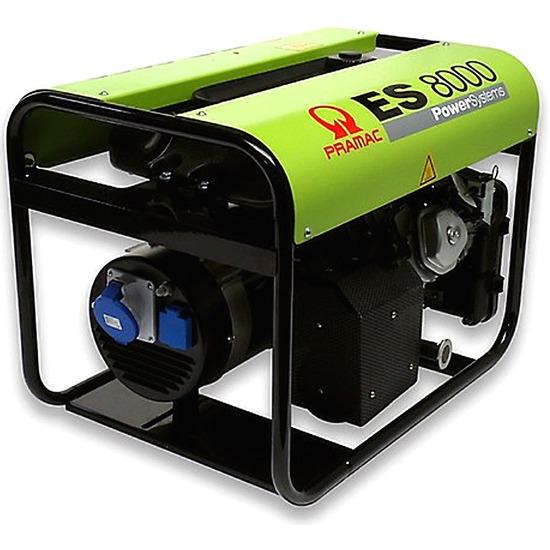Pramac ES8000 230v + AVR Long Run Generator