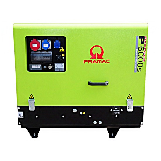 Pramac P6000s 400v +CONN+DPP Long Run Generator