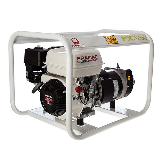 Pramac PX3250 230/115v 2.8kVA Generator - Honda Engine - Pramac Generators