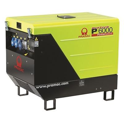 Pramac P6000 230v +CONN+DPP Diesel Generator - Portable