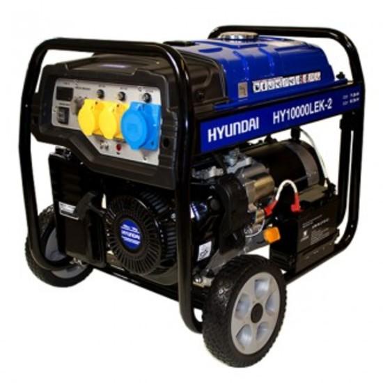 Hyundai HY10000LEK-2 8kW/10kVA E-Start (AVR) Petrol Generator