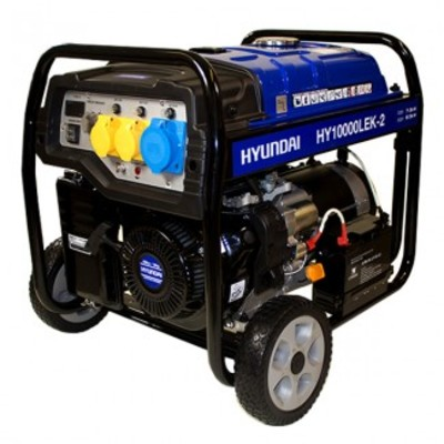 Hyundai HY10000LEK-2 8kW/10kVA E-Start Long Run Generator