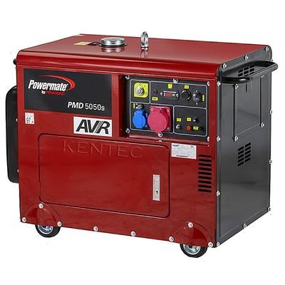 Powermate PMD5050S 400v Diesel Generator - Portable