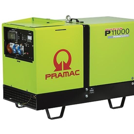Pramac P11000 400v 3-Phase Diesel Generator