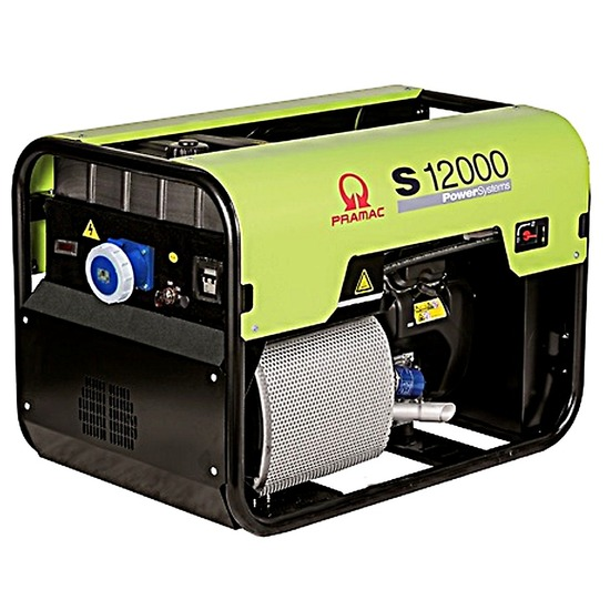 Pramac S12000 230v 63amp +AVR+CONN Pramac S Series Petrol Generator