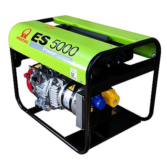 Pramac ES5000 230/115v Long Run Generator Petrol Generator