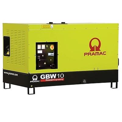 Pramac GBW10P 230v  8-25kVA Diesel Generator