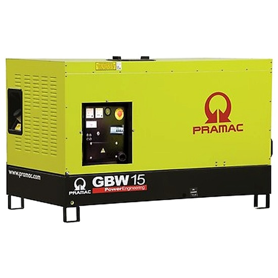 Pramac GBW15P 230v Standby Diesel Generator