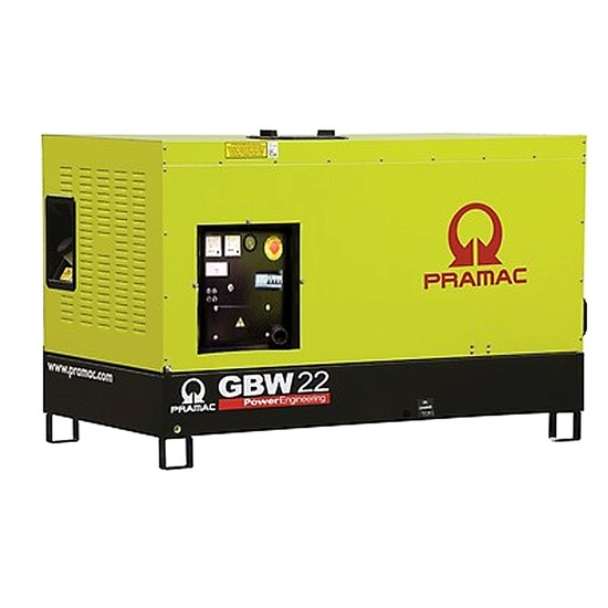 Pramac GBW22P 230v Standby Diesel Generator