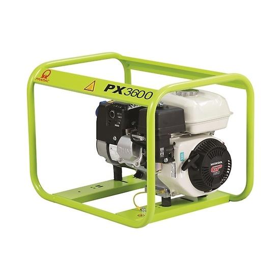 Pramac PX3600 230/115V HUK - Site/Open Frame Generator