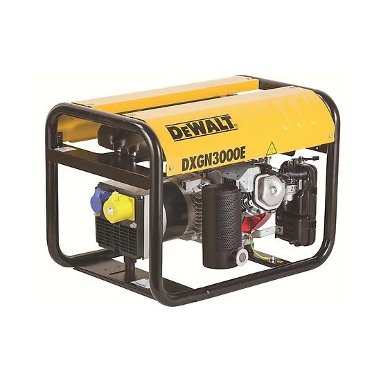 DeWalt DXGN3000E + AVR Petrol Generator - Honda Powered