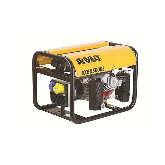 DeWalt DXGN5000E + AVR Petrol Generator - Honda Powered