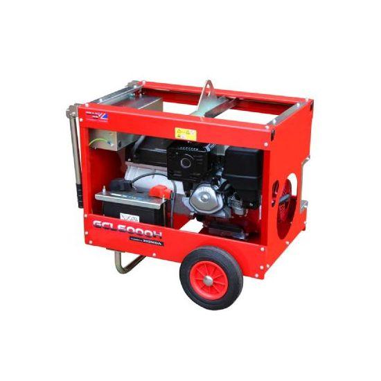 GCE7000HT 6.6kW/8.3kVA Elec-Start Honda GX390 3-Phase Generator