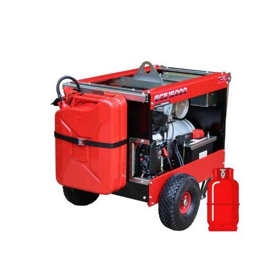 GCE12000H 12kW/15kVA LPG Duel Fuel Honda GX690 Petrol Generator
