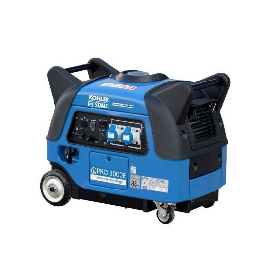 SDMO iPro3000E Yamaha Powered Silent Elec-Start Petrol Generator