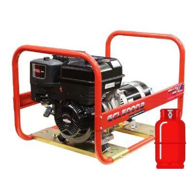 GCL5000B LPG Dual Fuel 5kW (6kVA) Briggs & Stratton Generator
