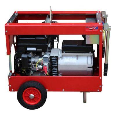 GCE5000BT 3-Phase 5kW (6kVA) Elec Start Briggs & Stratton Petrol Generator