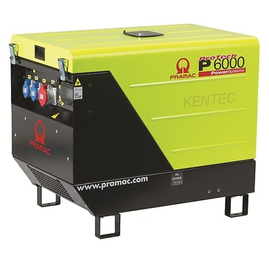 Pramac P6000 400v +CONN +DPP +AVR Diesel Generator