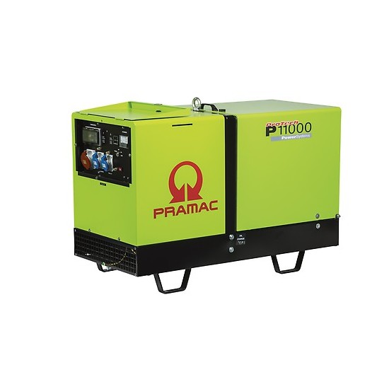 Pramac P11000 4000v AMF Standby Silent Diesel Generator