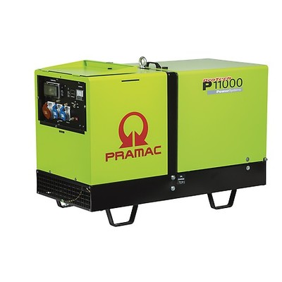 Pramac P11000 400v AMF Standby Diesel Generator