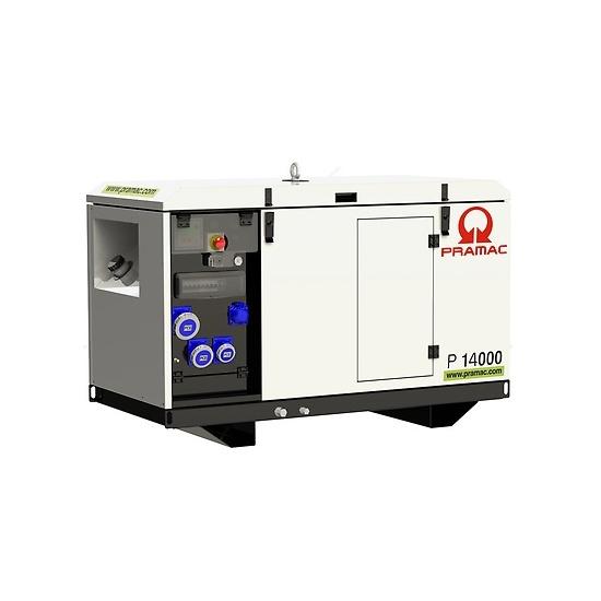Pramac P14000 230v AVR Yanmar Diesel Generator