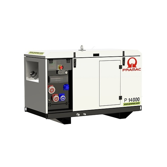 Pramac P14000 400v AVR Yanmar Diesel Generator