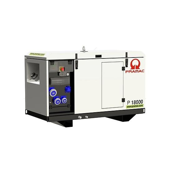 Pramac P18000 230v AVR Yanmar Diesel Generator