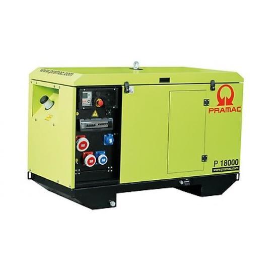 Pramac P18000 400v AVR Yanmar Diesel Generator