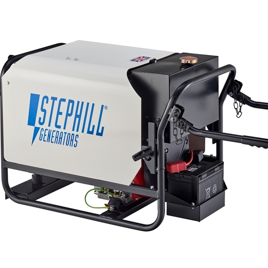 Stephill SE4000DLES - Portable Diesel Generator - Electric Start