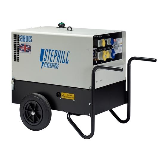 Stephill SSD6000S 6kVA Ultra Silent Diesel Generator