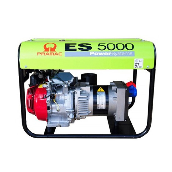 Pramac ES5000 400v 3 Phase - Long Run - Honda Engine