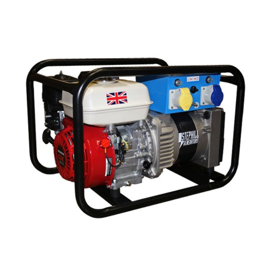 Stephill 2700HMS Petrol Generator - Honda Engine - Hire Quality