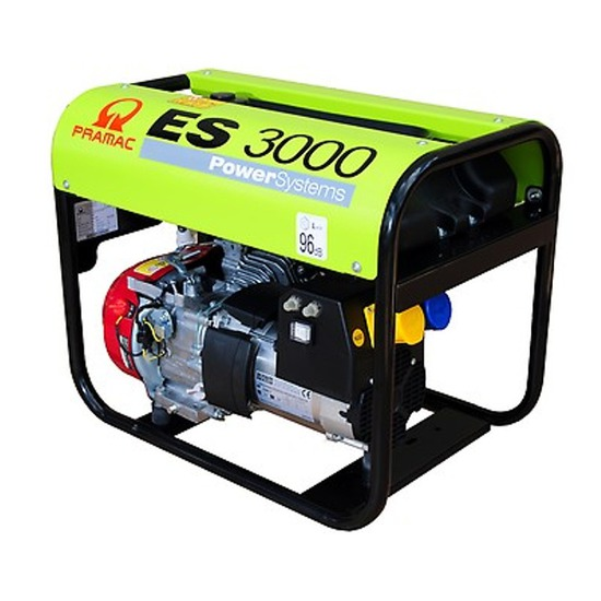 Pramac ES3000 230/110v Long Run Generator - Kentec Generators