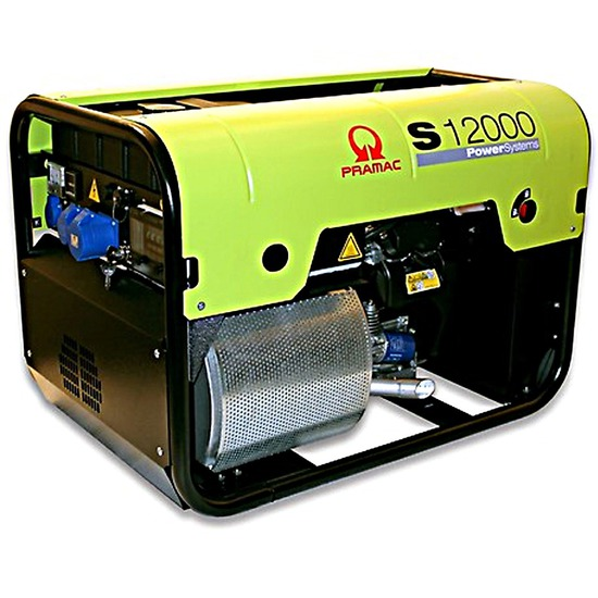 Pramac S12000 230v +CONN+AVR+RCD Pramac S Series Petrol Generator
