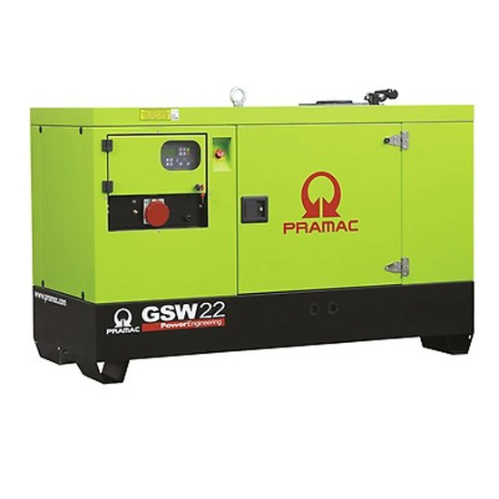 Pramac GSW22Y 3-Phase - Yanmar Engine - Pramac Generators