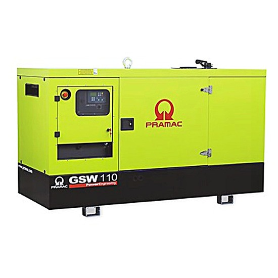 Pramac GSW110P 110kVA Diesel Generator -  Perkins Powered